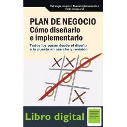 Plan De Negocio Como Diseñarlo E Implementarlo