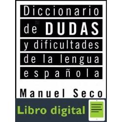 Diccionario De Dudas Y Dificultades De La