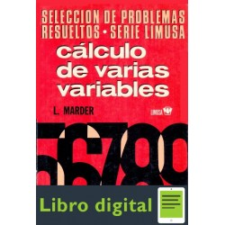 Calculo De Varias Variables, Vol. 2 L. Marder