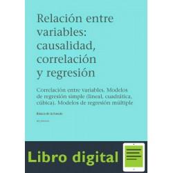 Relacion Entre Variables Causalidad,