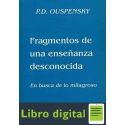 Fragmentos De Una Ensenanza Desconocida