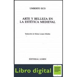 Arte Y Belleza En La Estetica Medieval U. Eco