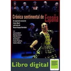 Cronica Sentimental De España M. Vazquez M