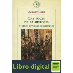 Las Voces De La Historia Y Otros Estudios