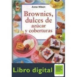 Brownies Dulces De Azucar Y Coberturas