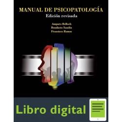 Libro De Psicopatologia ¿ Belloch Sandin Ramos