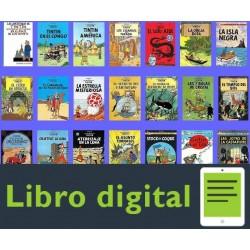 Las Aventuras De Tintin 28 Historietas Comics En Espanol