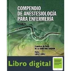 Compendio De Anestesiologia Para Enfermeria 2ª Edicion Libr
