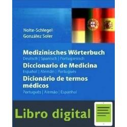 Diccionario De Medicina En Español Aleman Portugues