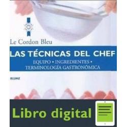 Le Cordon Bleu Las Tecnicas Del Chef