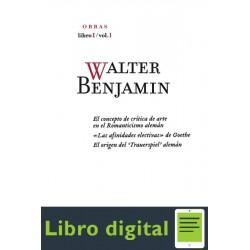 Walter Benjamin Obra Completa De Walter Benjamin