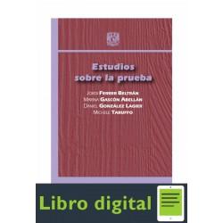 Estudios Sobre La Prueba Jordi Ferrer Mariana Gascon
