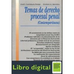 Temas Derecho Procesal Penal Cafferata Nores Jose