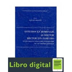 Estudios Homenaje Fixzamudio Tomo Ii Derecho Comparado