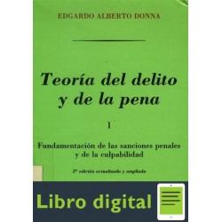 Teoria Del Delito Y De La Pena Tomo I Donna Edgardo