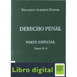Derecho Penal Parte Especial Tomo Iia Edgardo Alberto