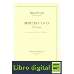 Derecho Penal Parte General Welzel Hans