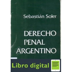 Derecho Penal Argentino Tomo Ii Soler Sebastian