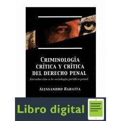 Criminologia Critica Y Critica Del Derecho Penal Baratta