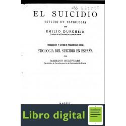 El Suicidio Durkheim Emilie