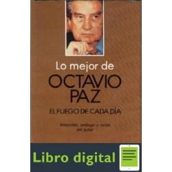 Paz Octavio Lo Mejor Sonetos