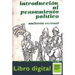 Cerroni Umberto Introduccion Al Pensamiento Politico