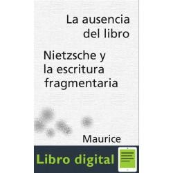 Blanchot Ausencia Libro Nietsche Y Escritura Fragmentaria