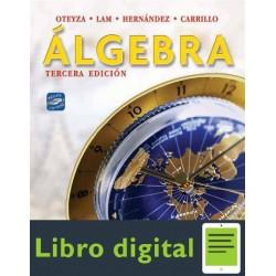 Algebra 3ed Oteyza Lam Hernandez Y Carrillo