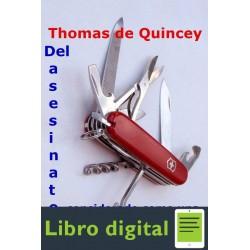 Del Asesinato Considerado Como Thomas De Quincey