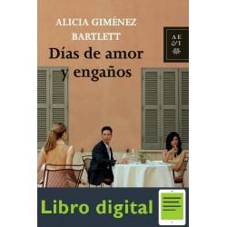Dias De Amor Y Enganos Alicia Gimenez Bartlett