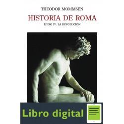 Historia De Roma Iv Theodor Mommsen