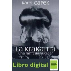 La Krakatita Karel Capek