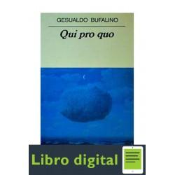Qui Pro Quo Gesualdo Bufalino