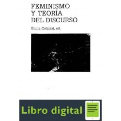 Colaizzi Giulia Feminismo Y Teoria Del Discurso
