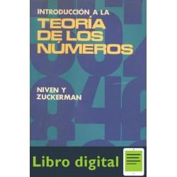 Niven Zuckerman Introduccion A La Teoria De Los Numeros