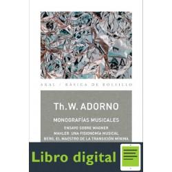 Adorno Theodor W Monografias Musicales