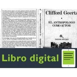 Antropologo Como Autor Geertz Clifford