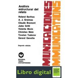 Roland Barthes Anlisis Estructural Del Relato