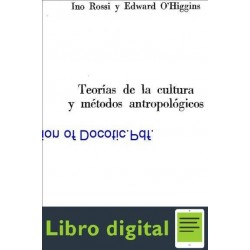 Teorias De La Cultura Y Metodos Estudios Antropologicos