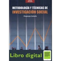 Piergiorgio Metodologia Y Tecnicas De Investigacion Social