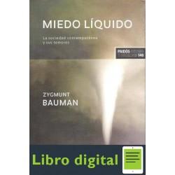 Zygmunt Bauman Miedo Liquido