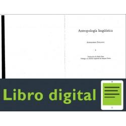 Duranti Antropologia Linguistica