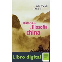 Bauer Wolfgang Historia De La Filosofia China