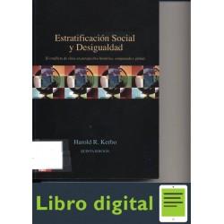Harold Kerbo Estratificacion Social Y Desigualdad