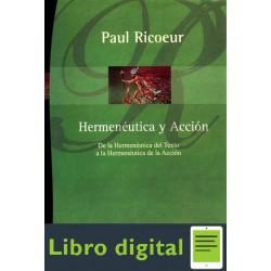 Ricoeur P Hermeneutica Y Accion