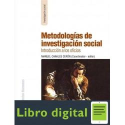 Manuel Canales Metodologias De Investigacion Social