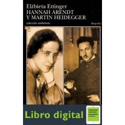Ettinger Elzbieta Hannah Arendt Y Martin Heidegger