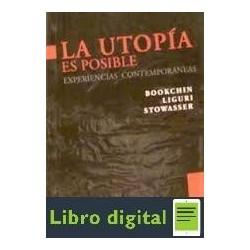 Bookchin Liguri Sotowasser La Utopia Es Posible