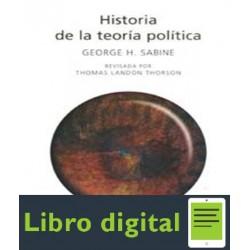 Sabine George Historia De La Teoria Politica Mexico