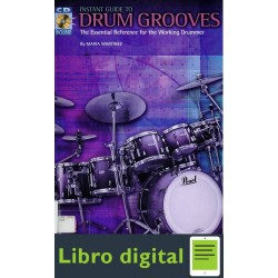 Maria Martinez Instant Guide To Drum Grooves Partitura Libr
